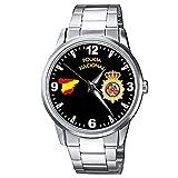 CASIO® Reloj Policía Nacional Metálico Sumergible