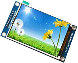 WINGONEER 2.4 inch TFT SPI LCD Module ILI9341 Drive Color Display Panel with PCB Panel 8 pins Screen