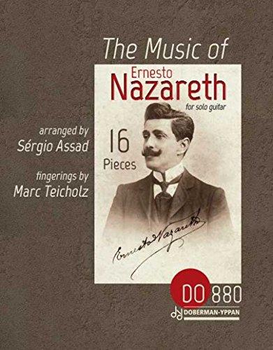 THE MUSIC OF ERNESTO NAZARETH GUITARE