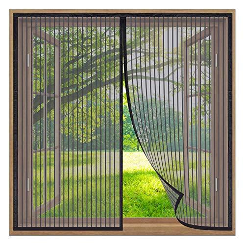 Mosquiteras de Ventanas,90x120cm Mosquitera Magnética para