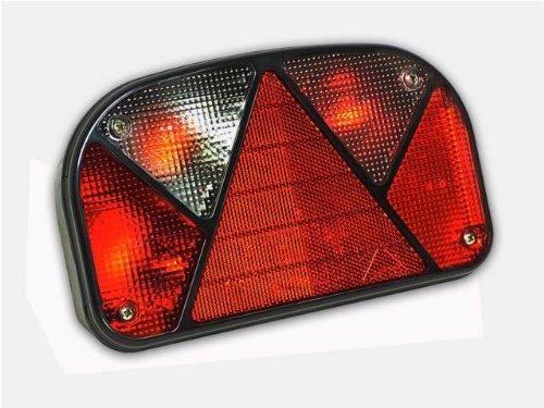 The Drive -10891- Aspöck Multipoint 2 II Links mit Nebelschlussleuchte Rücklicht Rückleuchte inkl. Leuchtmittel