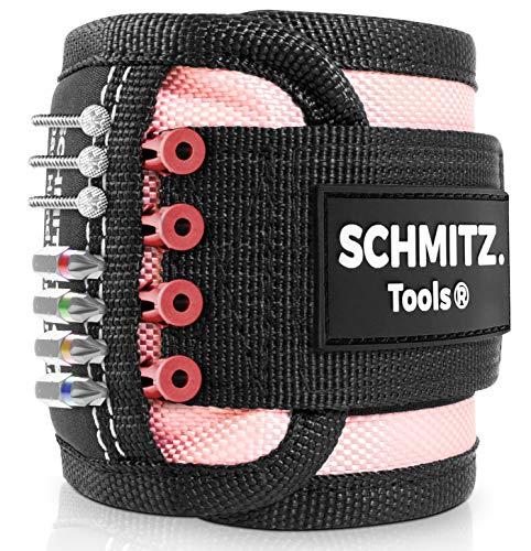 Magnetarmband für Handwerker [2021] Frauen Werkzeug - Werkzeug Pink - Rosa Werkzeug - Werkzeug zum Nähen und Handwerken - Pinker Haushalt - Handwerker für Frauen - Geschenkidee Frau