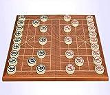 Ajedrez para tablero harry potter juegos Ajedrez chino con tablero de ajedrez plegable, Xiangqi chino, juegos portátiles de juegos de viaje, Egraving láser y tableros de ajedrez de trazado de oro, 1.6