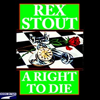 A Right to Die audiobook cover art