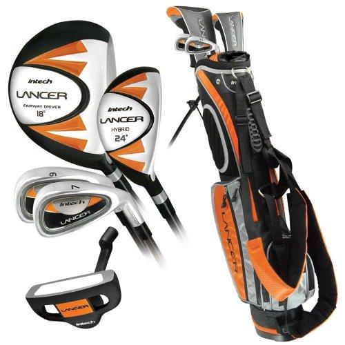 Intech Lancer Junior Golf Club Set (RH Orange Ages 8-12)