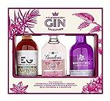 Flavoured Gin Trio Gift Set, 3 x