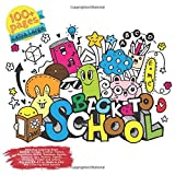 Relaxing Coloring Book Back to School, Toddler, Tattoo, Supe