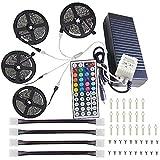 20m Bande de LED Ruban RGB Kit Ensemble de Luminaires IP44 600 LED 5050 SMD 100-240V