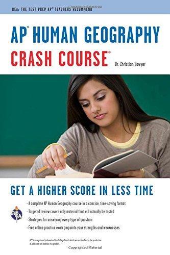AP Human Geography Crash Course (Advanced Placement (AP) Crash Course)...
