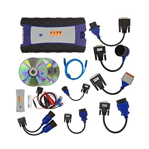 ZZKJBox DiagnosegeräT für LKWs, die Schwere, Leichte und Mittlere Lkws Sowie Baumaschinen Wie Lader und Bagger UnterstüTzen, mit Bluetooth