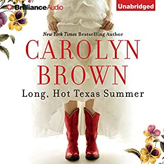 Long, Hot Texas Summer     McCabe Homecoming, Book 2              By:                                                                                                                                 Carolyn Brown                               Narrated by:                                                                                                                                 Laural Merlington                      Length: 7 hrs and 16 mins     472 ratings     Overall 4.4