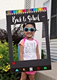 JeVenis Back to school Photo Booth Frame Back to school Photo Booth Props First Day of School Photo Booth. Back to School Frame