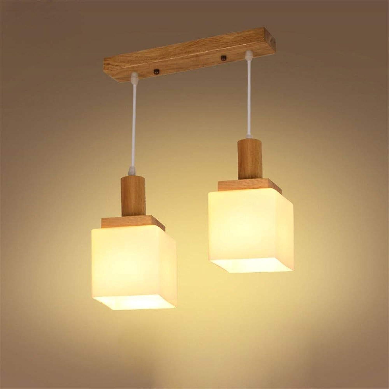 Deckenbeleuchtung Deckenleuchte Pendelleuchten Persnlichkeit Kreative Holz Drei Kopf Lampe Nordic Fashion Tatami Kronleuchter Einfache Restaurant