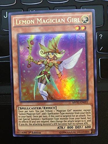 YU-GI-OH! - Lemon Magician Girl (MVP1-EN051) - The Dark Side of Dimensions Movie Pack - 1st Edition - Ultra Rare