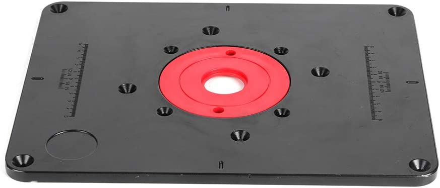 Moh Year-end gift Bombing new work Router Table Insert Plate 300mm T x 235mm DIY 9.5mm