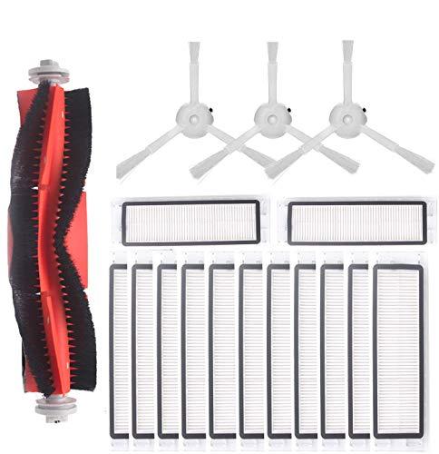 Supon pour aspirateur robot Xiaomi 17 pièces, filtre pour pièces détachées aspirateur Roborock 2 Roborock s50 s55 s6