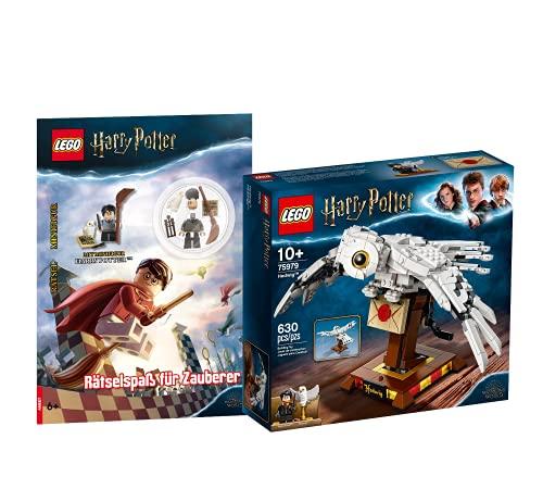 Collectix Lego 75979 Harry Potter - Juego de lechuza y juego de magos (cubierta blanda)