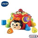 VTech - Super coccinelle des formes - formes à encastrer - 2 mode de jeux  (522305)
