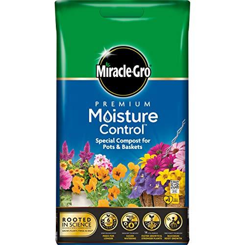 Miracle-Gro Moisture Control Compost - 10L BAG, (New 2020 Range)