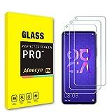 ALEECYN Cristal Templado para Huawei Nova 5T/Honor 20+, Vidrio Templado Protector de Pantalla Película Protectora, Dureza 9H, Anti - arañazos Anti-Rasguño,Fácil de Instalar [3 pezzi]