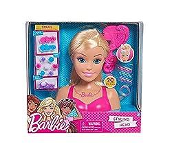 Ofertas Tienda de maquillaje: Con el busto Barbie se puede practicar diferentes peinados, con los 20 accesorios que incluye para jugar a peinarse y crear diferentes estilos Este busto es ideal para los niños y niñas a los que les encanta la temática de belleza, Ahora tendrán con ...