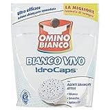 Omino Bianco Idrocaps White Sbianca e Smacchia, Ultra Efficace, 12 Capsule - 240 gr