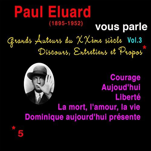 Couverture de Paul Éluard vous parle