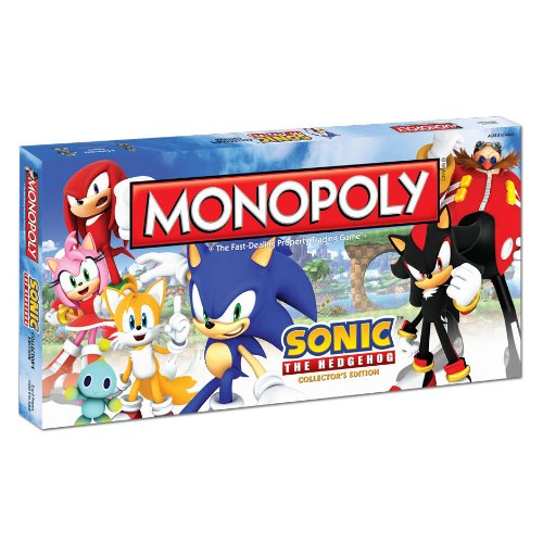 Sonic the Hedgehog Monopoly Board Game: Sonic the Hedgehog Monopoly