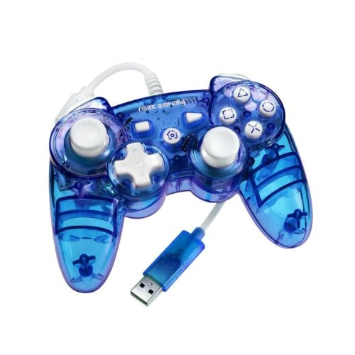 PS3 Controller Rock Candy - blau
