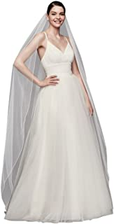 Best chapel length veil with pencil edge Reviews