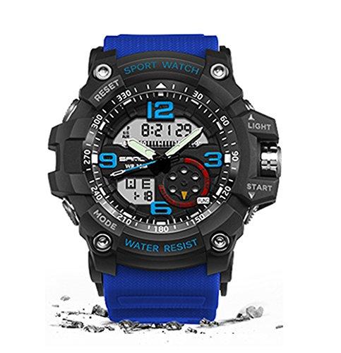 militaire montre homme Étanche montre de sport pour homme montres Produit de marque de luxe Horloge Camping plongée Relogio Masculino