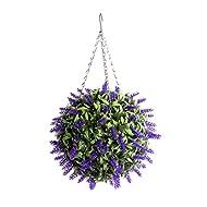 Best Artificial Purple Lavender Topiary