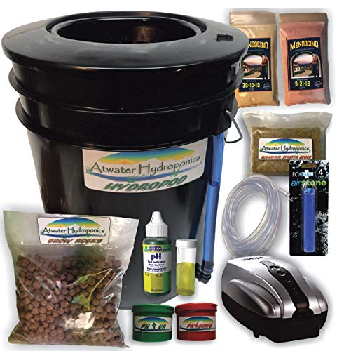 The Atwater HydroPod - Standard A/C Powered DWC Deep Water Culture/Recirculating Drip Hydroponic...