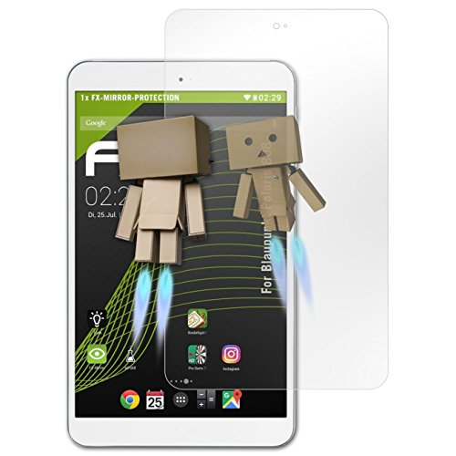 atFolix Bildschirmfolie kompatibel mit Blaupunkt Polaris 808 Spiegelfolie, Spiegeleffekt FX Schutzfolie