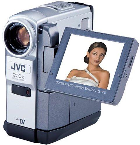 JVC GR-VF75EG MiniDV-Camcorder inkl. 3 MiniDV-Kassetten