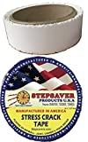 Stepsaver Products Self Adhesive Stress Crack Tape (1.25'' x 30'...