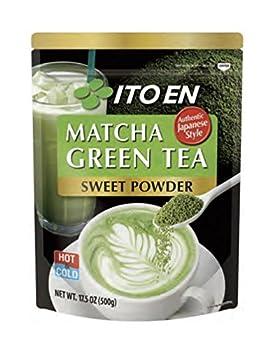 Ito En Matcha Green Tea Sweet Powder 17.5 Ounce  Pack of 1  Sweetened Green Tea Powder