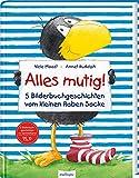 Alles mutig! 5 Bilderbuchgeschichten vom kleinen Raben Socke: | Lustige Vorlesegeschichten über Freundschaft für Kinder ab 3 (Der kleine Rabe Socke)