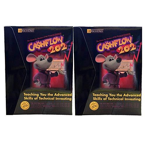 2 Box Rich Dad Cashflow 202 Family Board Game Robert Kiyosaki - Key to Success Become Millionaire - Advance Technical Investing Finance Education