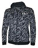 Under Armour Men's Full Zip ColdGear Hoodie Athletic Hoody Shirt 1342620 (Black, M)