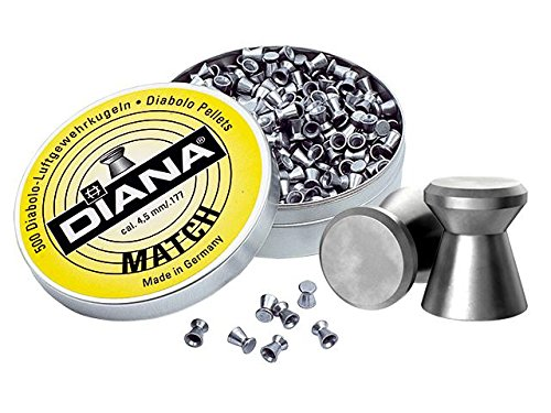 DIANA Match Diabolo 4,5mm - 500 STK.