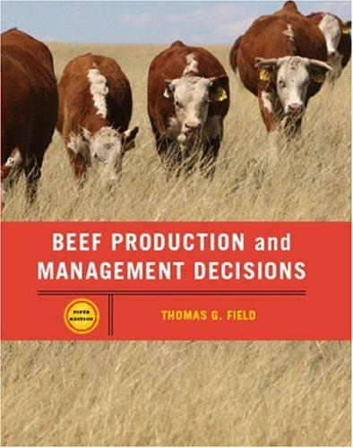 Beef Production Management and Decisions (5th Edition)