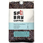 SAN FRANCISCO BAY SF Bay Coffee DECAF Gourmet Blend Whole Bean 2LB (32 Ounce) Medium Roast Natural Water Processed (Packaging May Vary)
