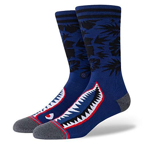 Stance Herren Socken ~ Tropical Warbird blau
