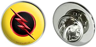 "GRAPHICS & MORE The Flash TV Series Reverse Flash Logo Metal 0.75"" Lapel Hat Pin Tie Tack Pinback"