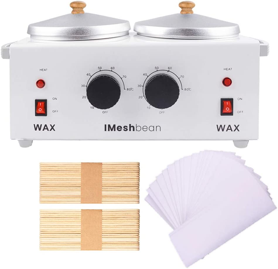Double Regular discount Wax Warmer Professional Electric Dual Removal Heater High order Hair