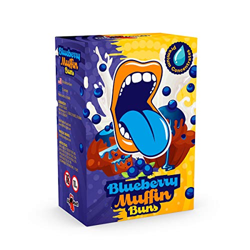 Big Mouth Aromakonzentrat Classic - Blueberry Muffin Buns, zum Mischen mit Basisliquid für e-Liquid, 0.0 mg Nikotin, 10 ml