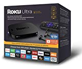 Roku Ultra | (2018) 4K / HDR / HD Streaming Player con cuffie JBL Premium, Voice Remote, Remote Finder, Ethernet e USB