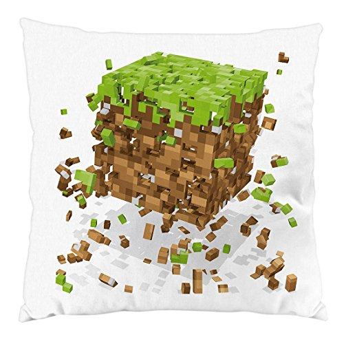 A.N.T. Another Nerd T-Shirt A.N.T. Exploding Cube Kissen mit Füllung 28 x 28 cm Baumwollbezug Block würfel Spiel Game