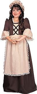 Rubie's Child's Colonial Girl Costume, Medium